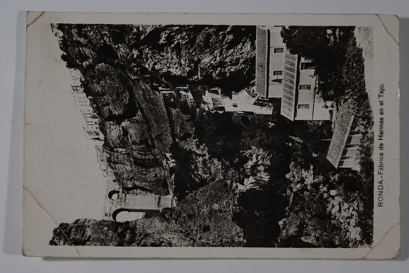 Postcard Arthur to Stowell Ronda Spain 1931