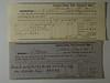 1851 & 1853 receipts CB Stebbins Property Tax