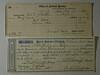 1862 & 1865 receipts CB Stebbins Insurance & Property Tax