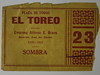 Ticket for El Toreo