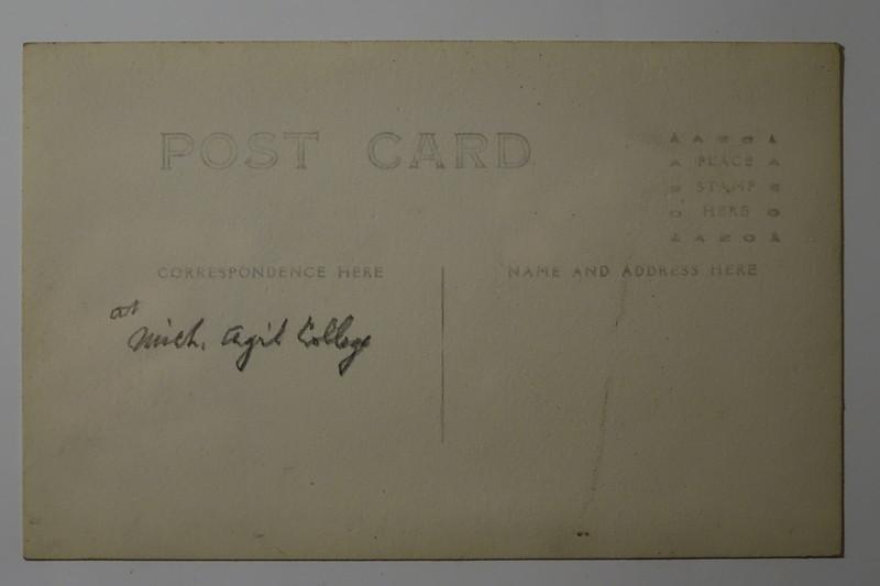 Postcard MAC Michigan Agricultural College