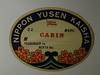 Nippon Yusen Kaisha Ship Sticker