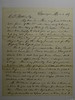 Letter from J M Gregory  (Supt of Public Instruction MI) to CB Stebbins 6 March 1867
