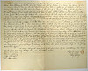 1838 Deed From Rufus Spalding to CB Stebbins Palmyra MI