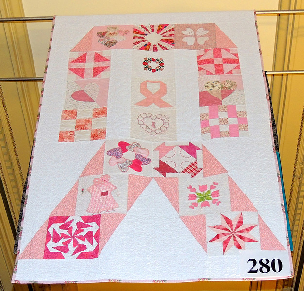 Ribbon Quilt by Deborah Conway