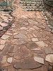 red sand and flagstone
