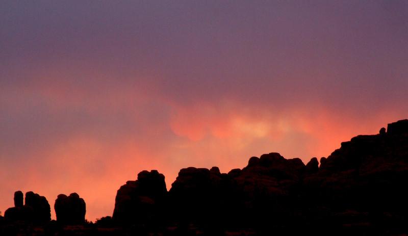 Sunset, Moab
