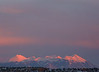 The La Sal Mountains at Sunset from Canyonlands