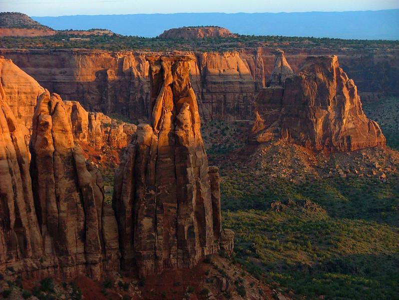 Sunrise on Monument Canyon