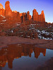 Fisher Towers at Sunset