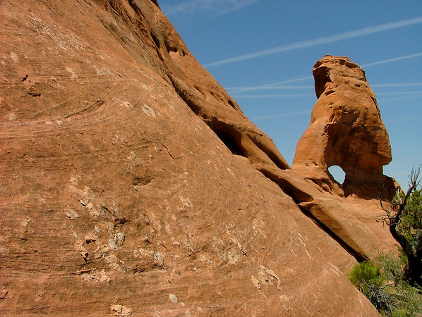 South American Arch in Rattlesnake Canyon, Colorado