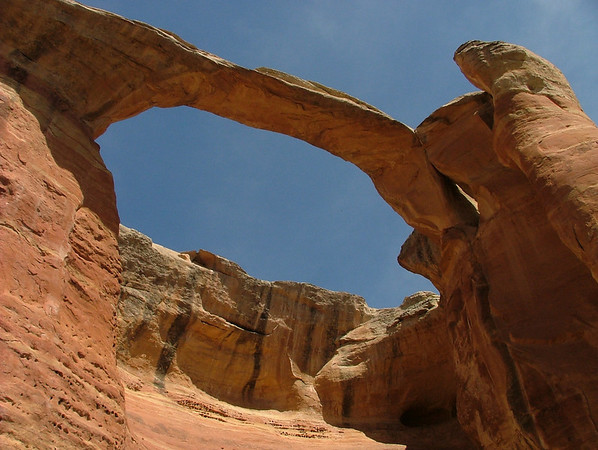 Akiti Arch in Rattlesnake Canyon, Colorado