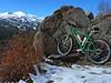 Why we took mountain bikes instead of road bikes.