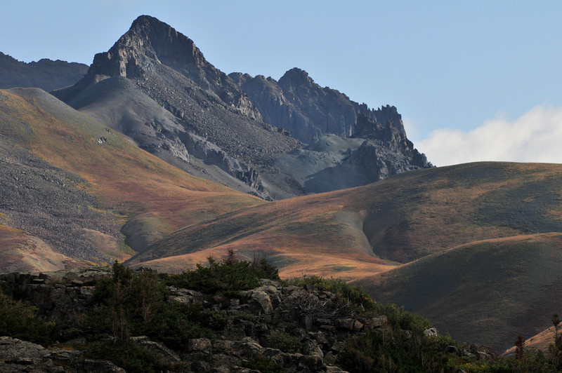 Looking back toward Stony Pass