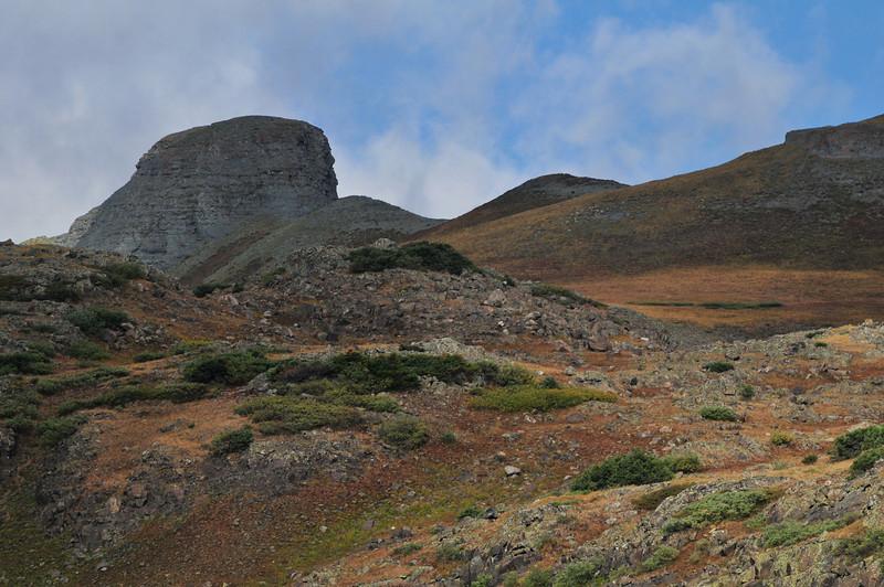 A Bumpy Peak