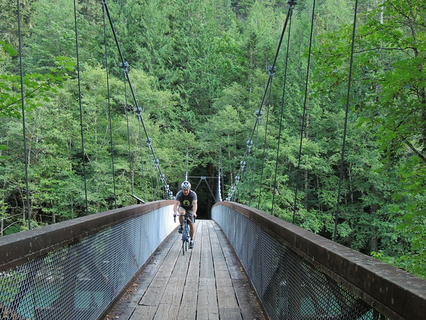 Bridge Over Skagit River