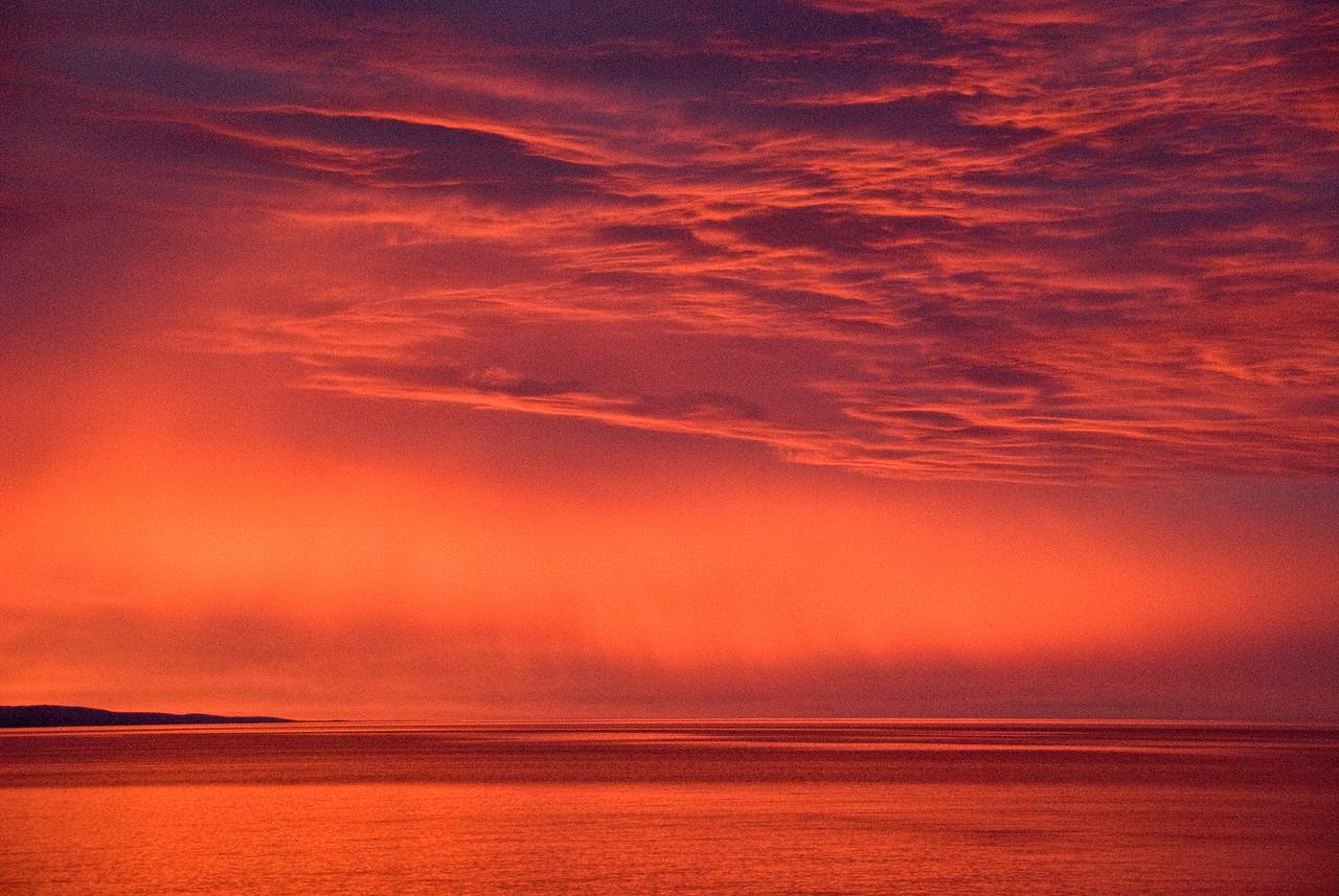 Sunrise, North Shore, Lake Superior