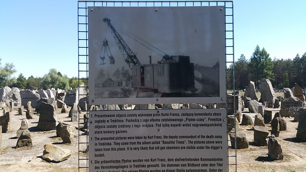 They even demolished old gas chambers to build new more efficient ones in place of.