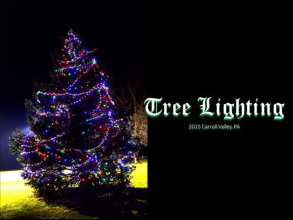 Tree Lighting 2015