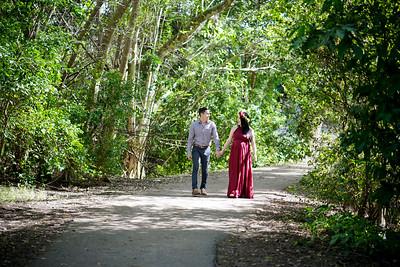 Tree Tops Park pregnancy shoot