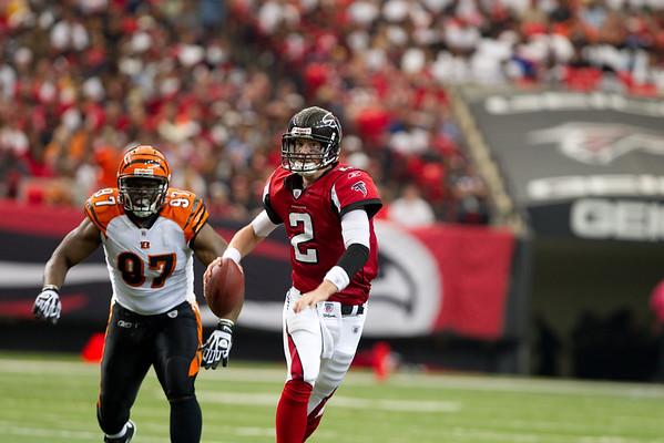 NFL FOOTBALL: OCT 24 Bengals at Falcons