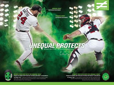 Subject: Atlanta Braves catcher Evan Gattis <br /> Campaign: Unequal Protects<br /> Client: Unequal
