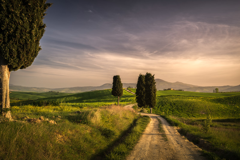Hiking in beautiful Tuscany