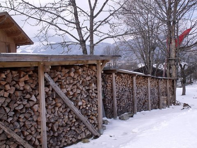 Austrian Wood Stacks