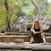 Cambodia, Angkor Wat: Largest temple in the world : Portrait