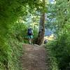ใช้ ไม้เท้าเดินป่า เดินบน Manaslu circuit trek Nepal