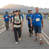 The BVA crew finishes the march, looking a little exhausted but still alive and moving...Moving is Living.