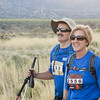 Lonnie and Nancy smile for the camera during the last mile of the Bataan Death March.