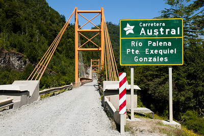 Exequiel Gonzales Bridge - Carretera Austral - Chile