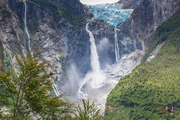 Hanging Glacier of Queulat National Park (Chile)