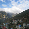 Day 3: View of Namche Bazaar