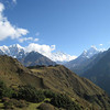 Day 3: From the left -- Everest, Lhotse, and the majestic Ama Dablam