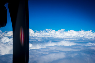 Everest (center), Lhotse and Makalu . . . all over 8000m