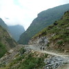 The Annapurna Circuit is now largely on driveable road.