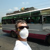 Dust mask is a necessary accessory with all of the soot and smells.