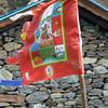 Buddhist flag.