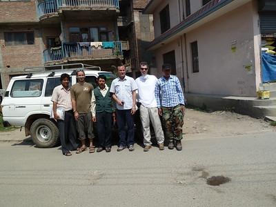 Leaving Kathmandu for Arughat