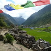 Tibetan culture in village of Lho