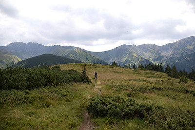 Highest peaks of the Lower Tatras