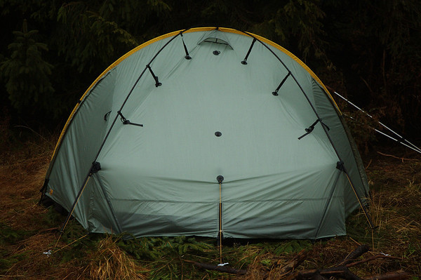 TarpTent Scarp 2 with crossing poles