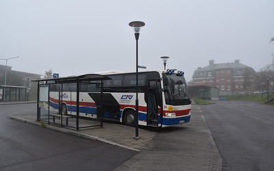 The 92 bus to Nikkaulokta