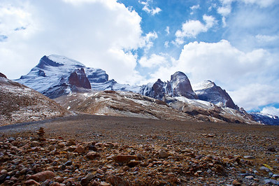 Landscape, kora around of the mount Kailas