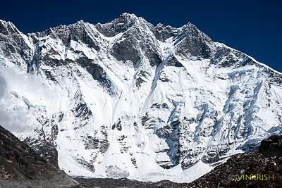 Massive and majestic Lhotse
