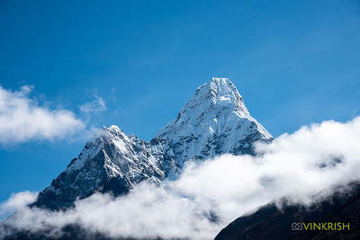 A little closer -- Ama Dablam