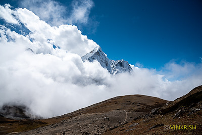 Ama Dablam seemed to be at eye level from Chukhung Ri