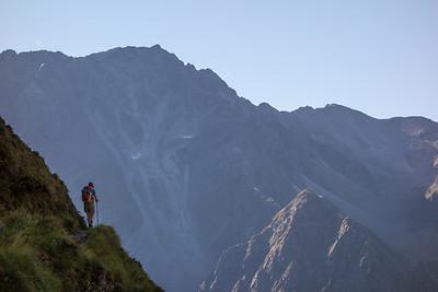 Stubai and Zillertal Alps, Austria